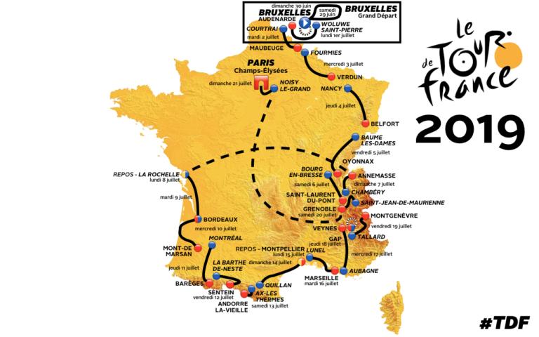 Tour de France 2019 : demandez le programme !