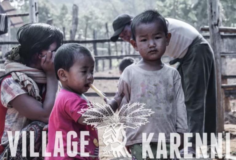 Sécheresse en Birmanie. Un appel à la mobilisation de village Karenni
