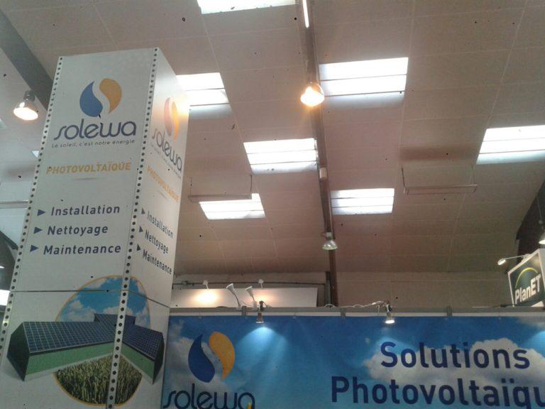 Panneaux solaires: Solewa pose 7000 mètres carrés chaque mois