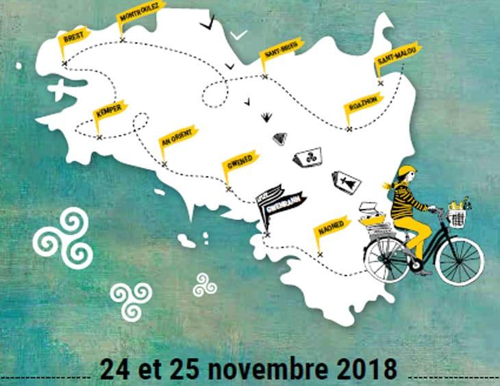 Guérande. Le 15e Festival du Livre en Bretagne les 24 et 25 novembre