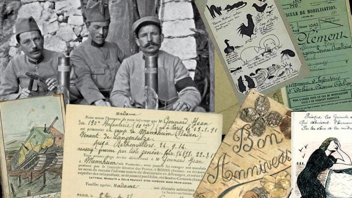 La Grande Collecte : dernière semaine pour donner vos archives de la Grande Guerre