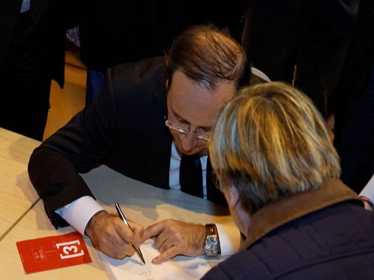 Nantes. François Hollande fera-t-il mieux qu'Amélie Nothomb ?