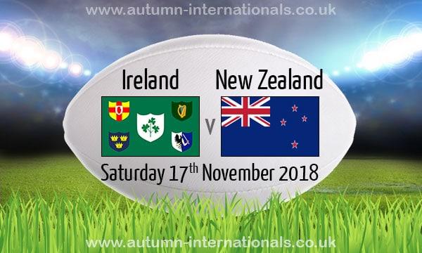 Rugby. Irlande-Nouvelle Zélande, le match de l'année ? Le point sur les test-matchs de ce samedi