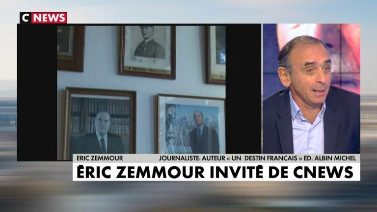 « Affaire Pétain » : Eric Zemmour en débat sur l'Heure des Pros [Vidéo]