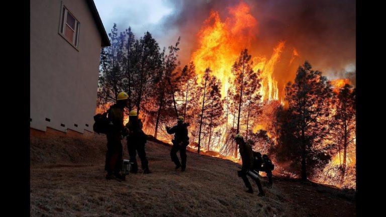 Incendies en Californie. Les vidéos des ravages des flammes