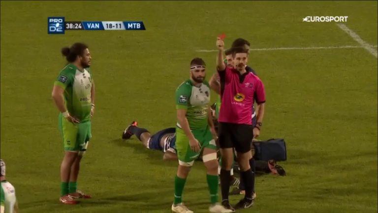 Rugby. Le RC Vannes s'incline face à Montauban (27-28) [Vidéo]