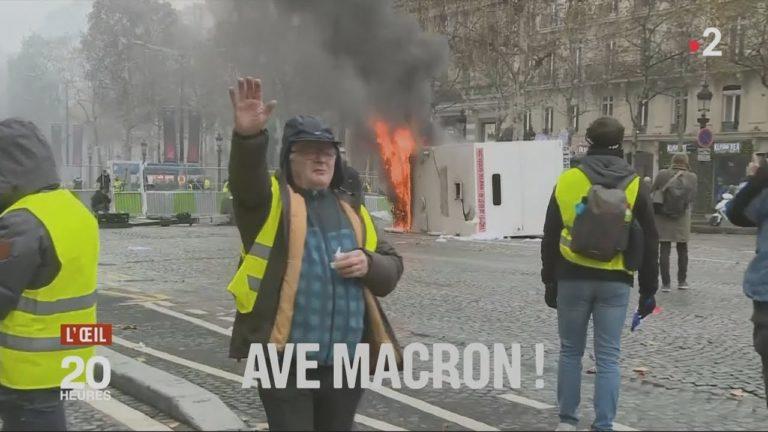 Quand le rapporteur de la loi anti fake news relaie une Fake News sur le prétendu salut nazi d'un Gilet Jaune [Vidéo]