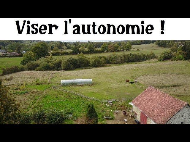 Objectif Autonomie : visite d'une ferme en permaculture  [Vidéo]