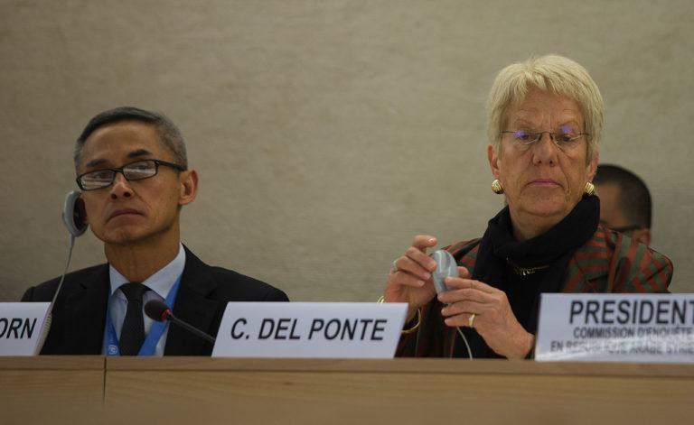 Tribunal Pénal international (TPI) : Carla Del Ponte persiste et signe !