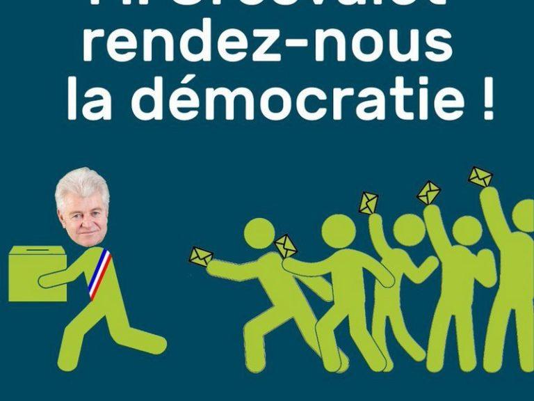 Réunification. Philippe Grosvalet n'est pas le copain des électeurs
