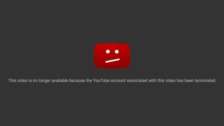 La censure de Youtube fonctionne à plein tube !