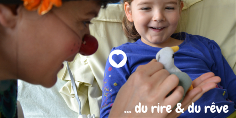 Du rire et du rêve pour les enfants hospitalisés du CHU de Nantes