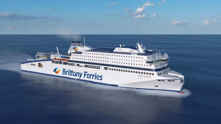 Brittany Ferries signe un contrat à 50 M€ avec le Royaume-Uni