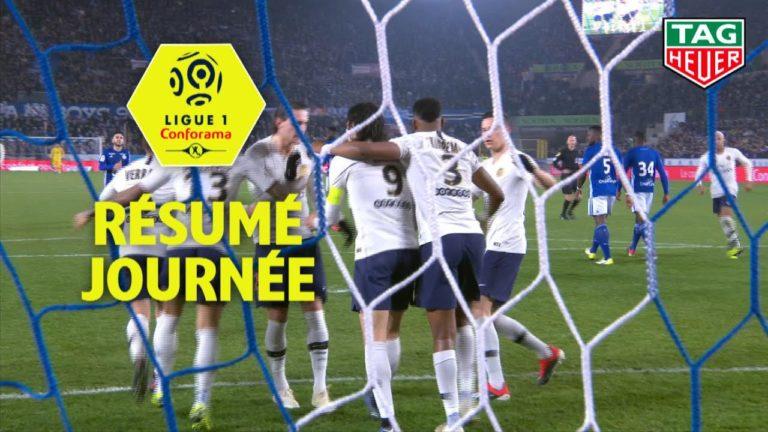 Lyon-Stade Rennais (0-2), Nantes-Marseille (3-2), Dijon-Guingamp (2-1) : la soirée de Ligue 1 en vidéo