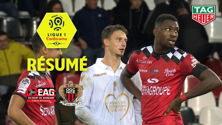 EA Guingamp – OGC Nice ( 0-0 ) : le résumé en vidéo