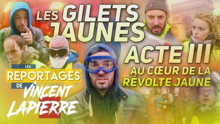 Gilets jaunes : la révolte jaune, acte III [Vidéo]