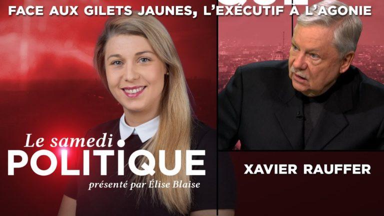 Face aux Gilets Jaunes, l'exécutif à l'agonie : Xavier Raufer sur TVL [Vidéo]