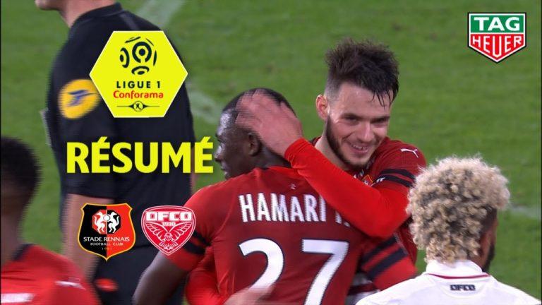 Stade Rennais FC – Dijon FCO ( 2-0 ) : le résumé en vidéo