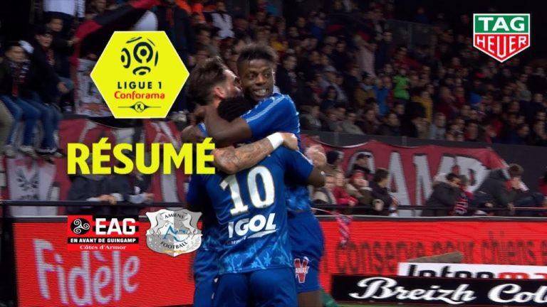 EA Guingamp – Amiens (1-2) : les costarmoricains s'enfoncent [Vidéo]