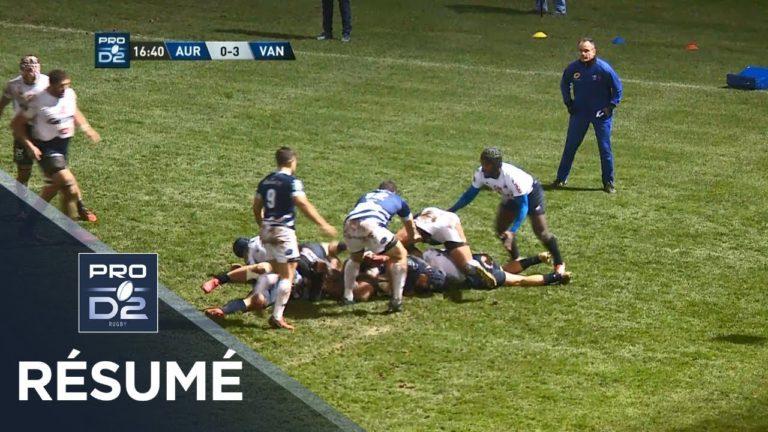 Rugby. Le RC Vannes réalise un gros coup et s'impose à Aurillac 17-23 [Vidéo]