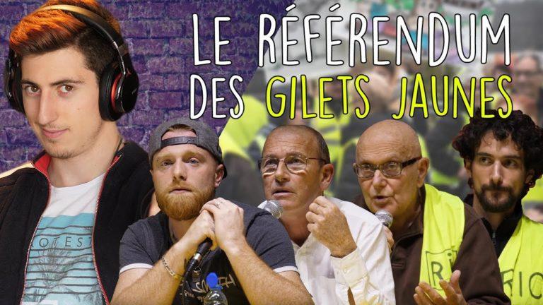 Le Référendum des Gilets jaunes : un débat avec Fly Rider, Etienne Chouard, Yvan Bachaud et Léo Girod [Vidéo]