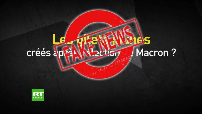 Fake news. De fausses informations autour du mouvement des gilets jaunes dans le camp Macron [Vidéo]