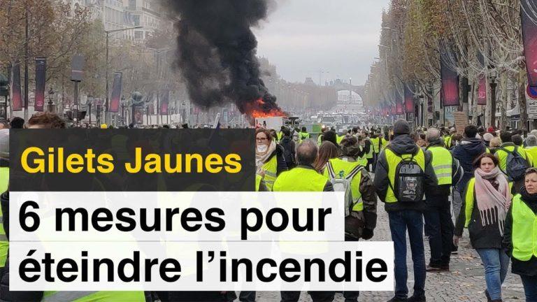 Gilets Jaunes. 6 mesures pour éteindre l'incendie [Vidéo]