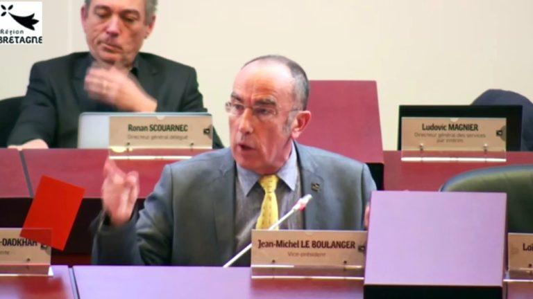 Bretagne. Pour Jean-Michel Le Boulanger, l'insécurité en France proviendrait… de l'extrême droite [Vidéo]
