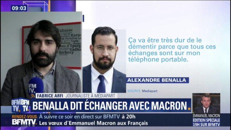Fabrice Arfi (Mediapart): « J'ai des raisons de penser que ce qu'Alexandre Benalla m'a dit est vrai » [Vidéo]