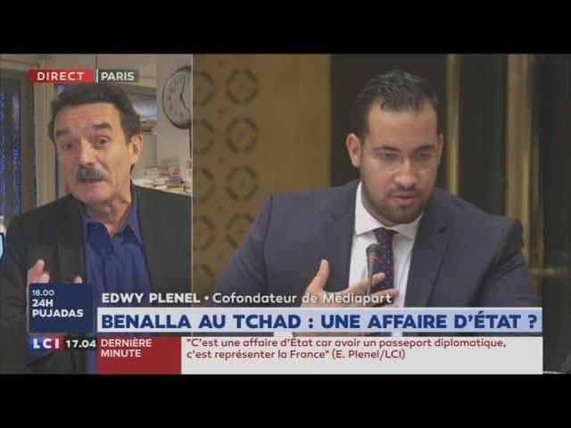 Plenel (Mediapart) : «Benalla est couvert, protégé, soutenu, aidé. On le voit dans toute sa morgue. Il bénéficie d'une impunité, d'une indulgence qu'a demandé Macron à son égard.» [Vidéo]