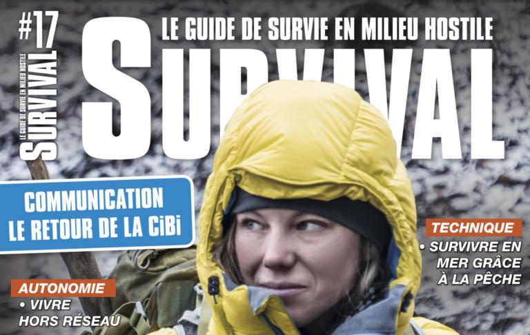 Tout savoir sur la survie hivernale : c'est dans le 17ème numéro de Survival Magazine