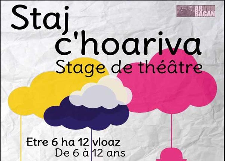 Ar Vro Bagan. Un stage de théâtre en breton pour enfants aux vacances de février