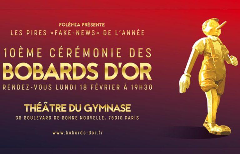 Paris. Qui remportera les bobards d'or lundi 18 février ?