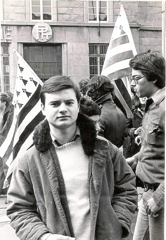 Christian Le Bihan et Bertrand Jestin 1976