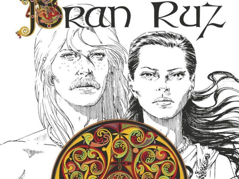 Bran Ruz, la légende païenne de la ville d'Ys (bande dessinée)