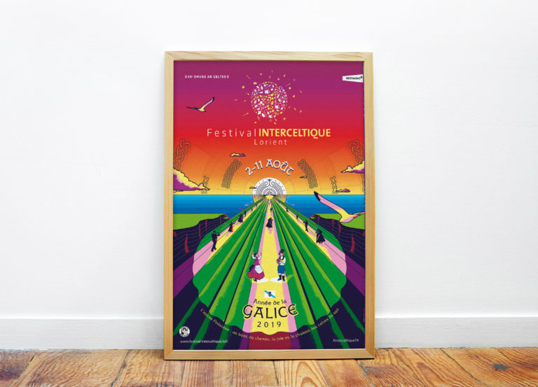 L'affiche du Festival Interceltique de Lorient (FIL) 2019 dévoilée