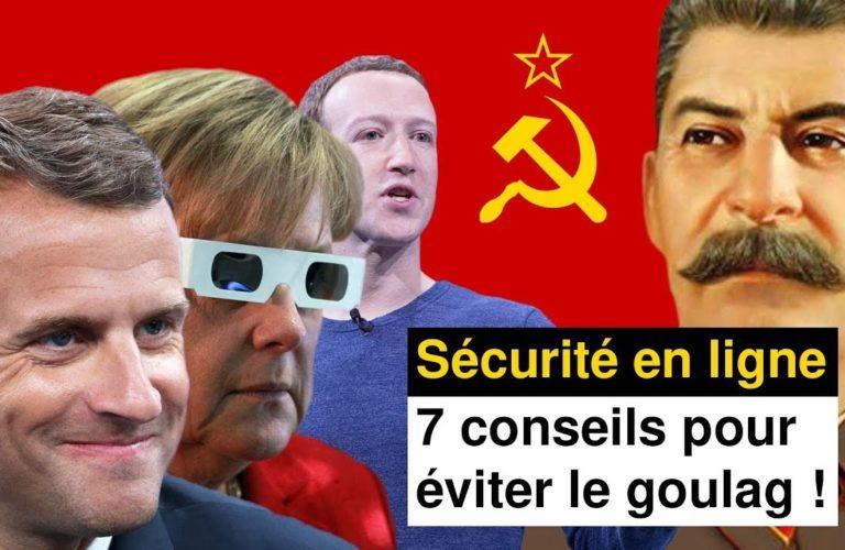 Sécurité en ligne. 7 conseils pour éviter le Goulag ! [Vidéo]