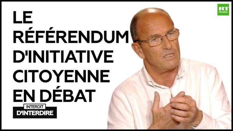 Interdit d'Interdire : Le référendum d'initiative citoyenne en débat avec Etienne Chouard [Vidéo]