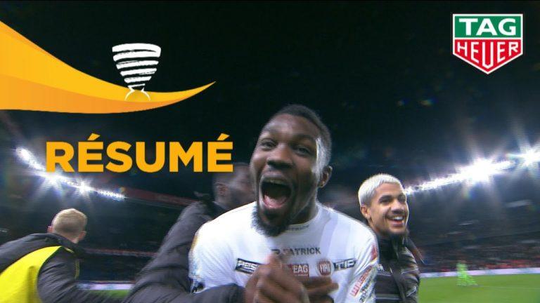 Coupe de la Ligue. Guingamp réalise l'exploit et élimine le PSG (1-2) [Vidéo]