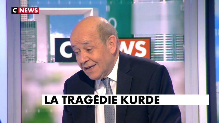 Jean-Yves Le Drian : « Devant ce déferlement de violence, il y a des risques pour la démocratie » [Vidéo]