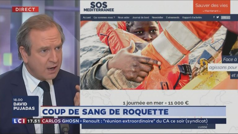 G. Roquette sur SOS Méditerranée : «Elle va avoir le droit de faire sa propagande dans les écoles» [Vidéo]