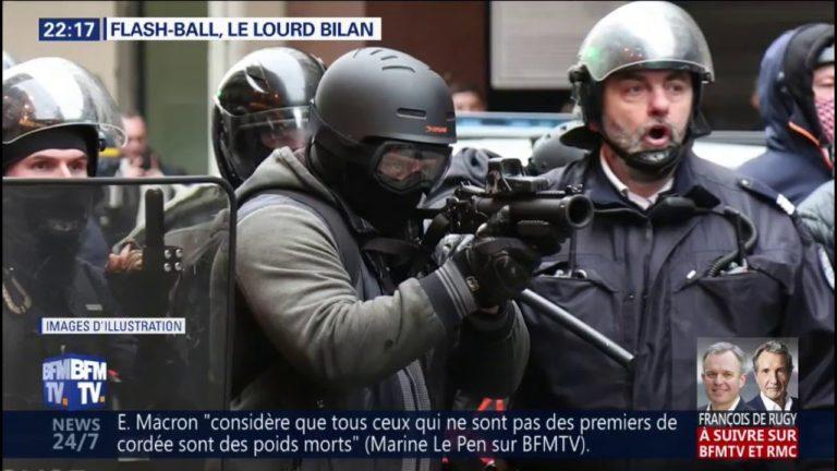 Gilets jaunes. Manifestants blessés par les policiers : le lourd bilan des LBD [Vidéo]