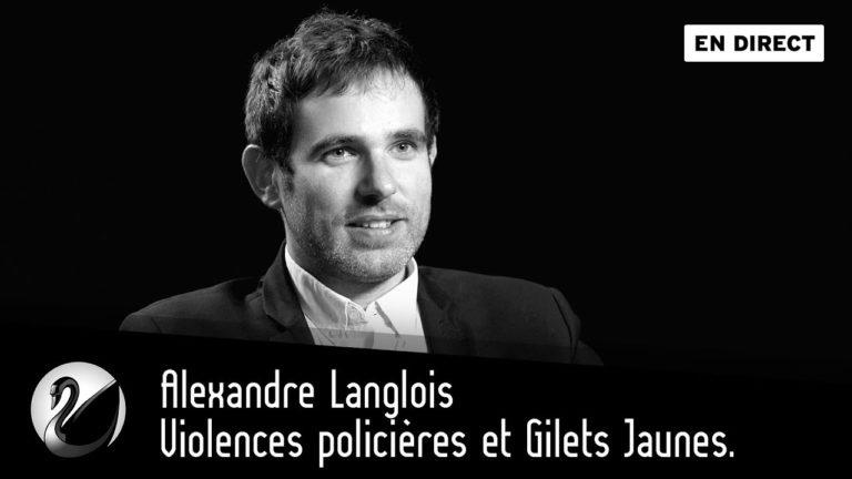 Alexandre Langlois (VigiPolice) accuse ses directeurs d'avoir falsifié à la baisse les chiffres de la délinquance [Vidéo]