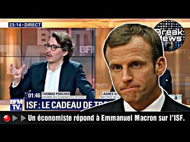 Un journaliste s'attaque « aux mensonges » de Macron sur l'ISF [Vidéo]