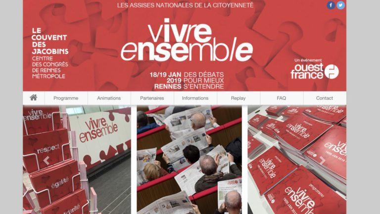 Polémique et arnaque médiatique à Rennes. Des assises nationales de la citoyenneté et du vivre ensemble… sans aucun contradicteur