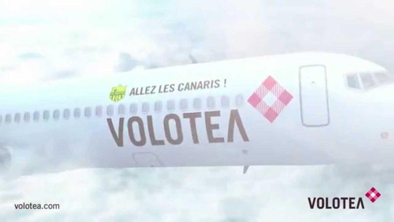 Volotea proposera 21 destinations pour Noël au départ de Nantes