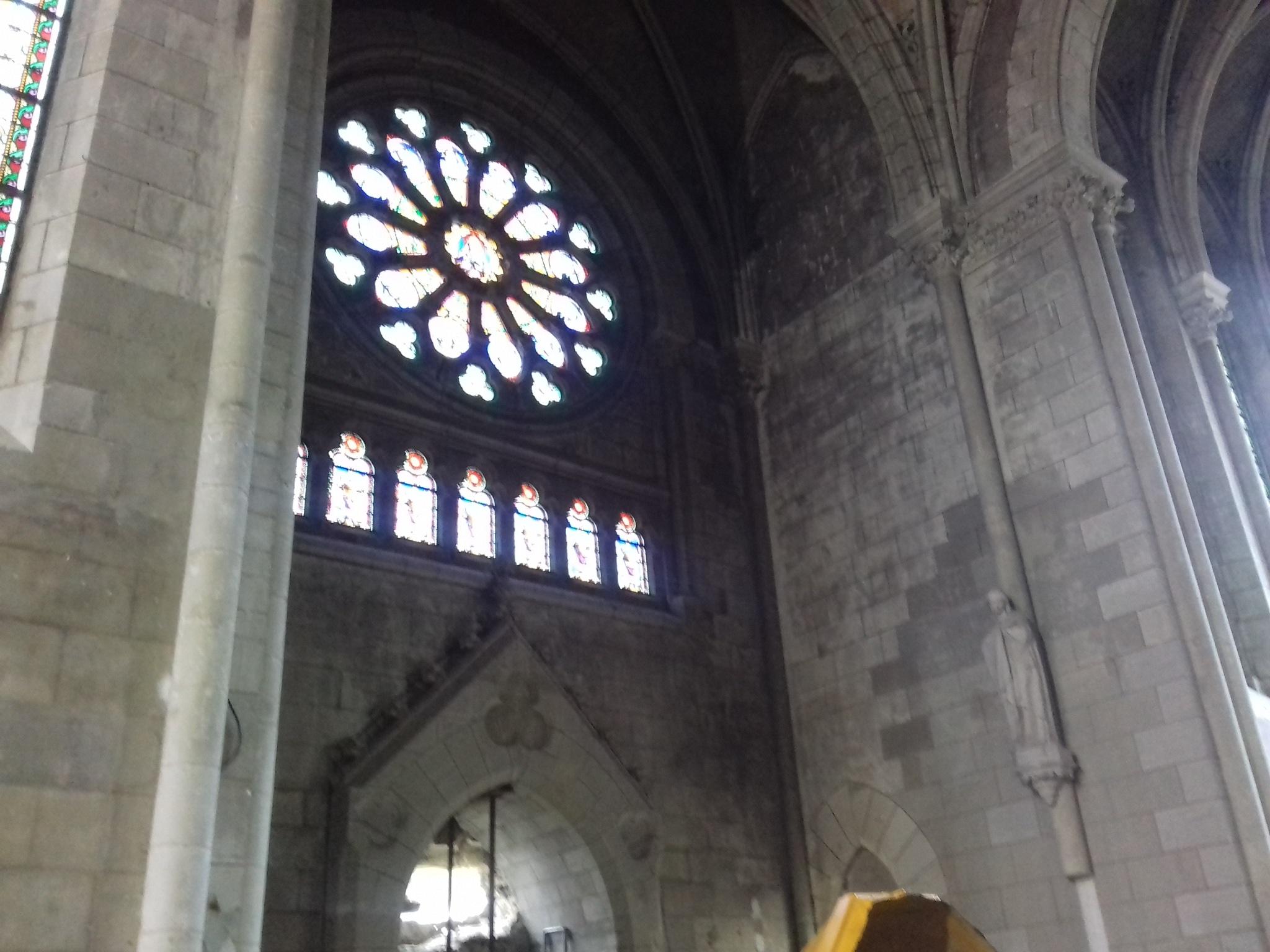 Où la maudite conciliaire fracasse les monuments sacrés de la Sainte Église Catholique 20190205_153437