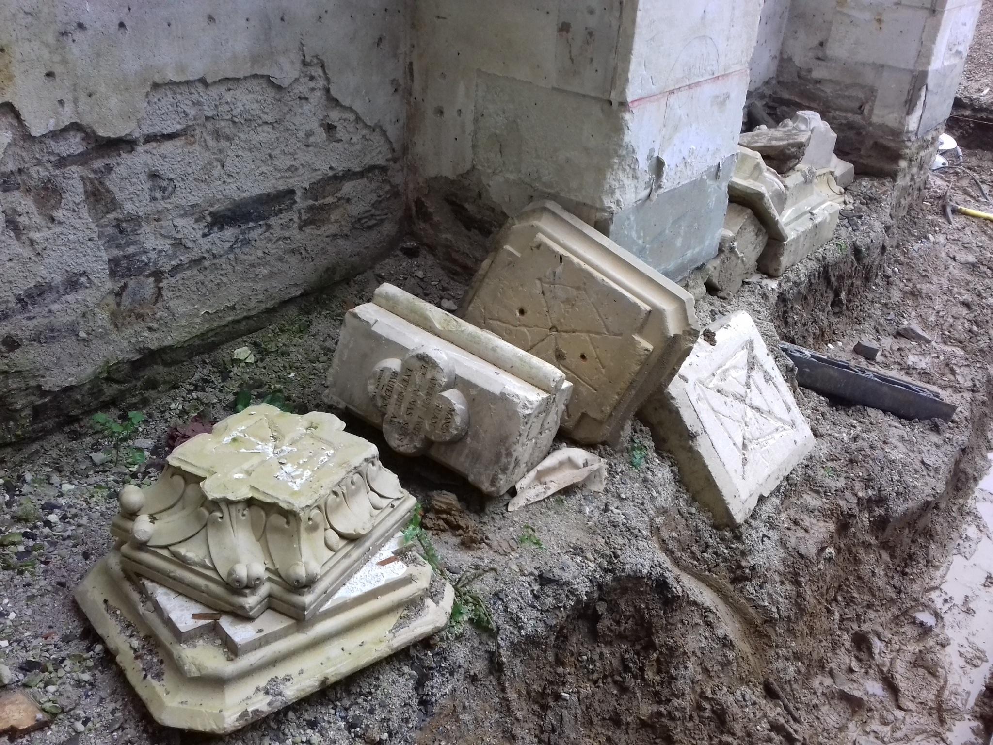 Où la maudite conciliaire fracasse les monuments sacrés de la Sainte Église Catholique 20190205_153758