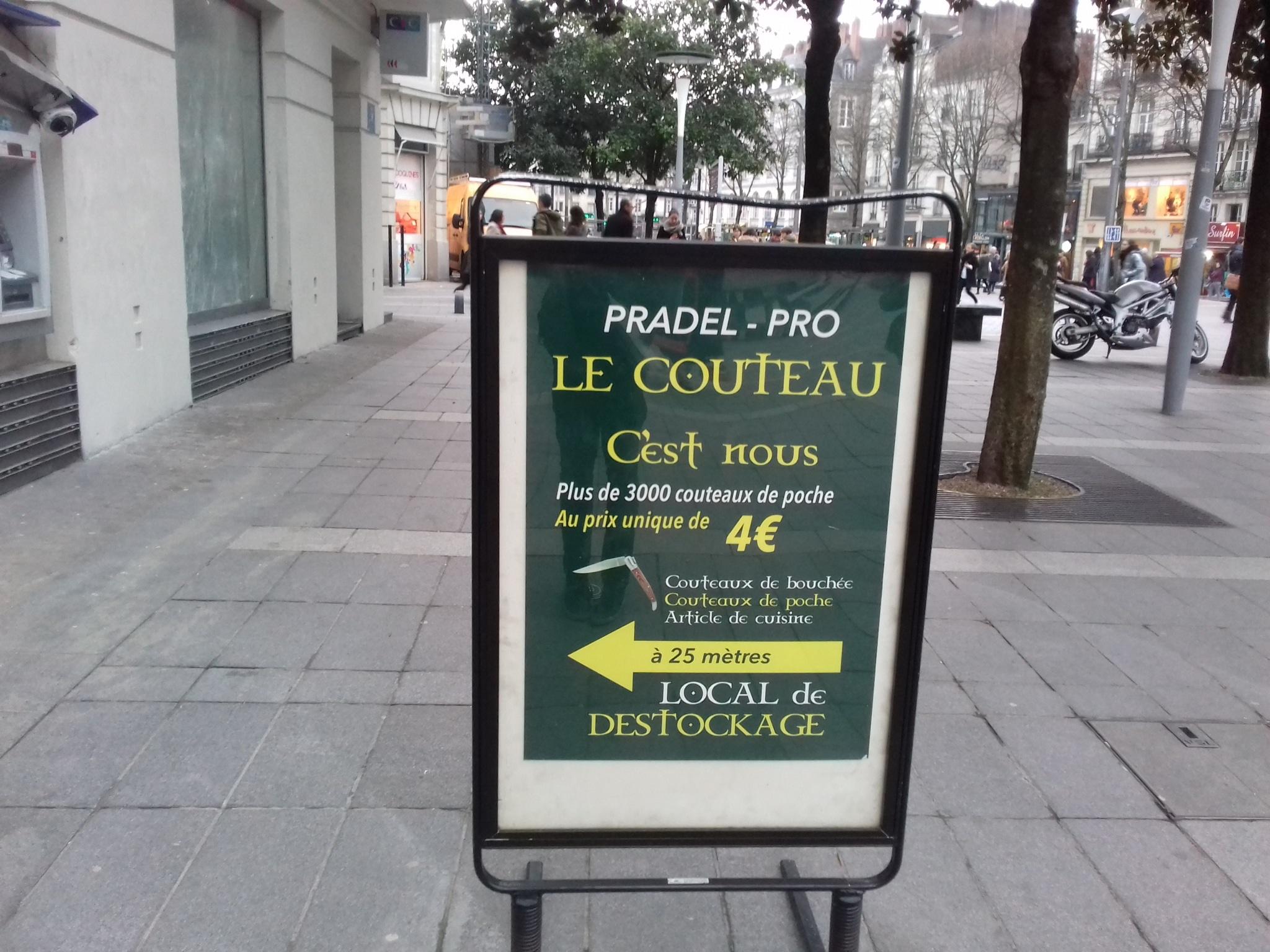 Bon Plan A Nantes Des Couteaux A Prix Casse En Centre Ville