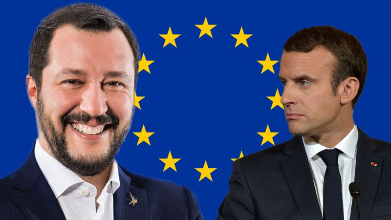 Salvini-Macron-elections-europe